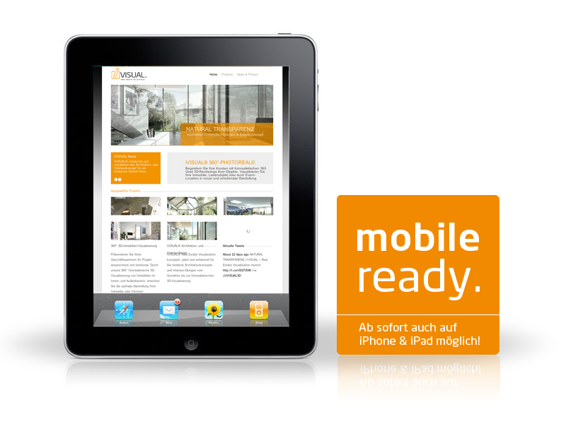 iVISUAL® = mobile ready!